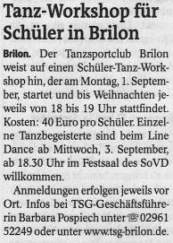 Westfalenpost 28.08.2014